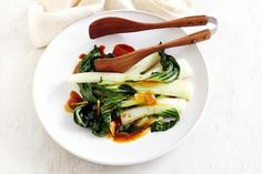 Easy Bok Choy Recipe. All the ingredients are already in my kitchen