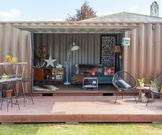 Then & Now: An unbelievable container house makeover - Homes To Love