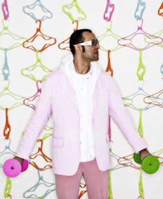 This week, Karim Rashid was held at the US border and Hillary Clinton's logo designer spoke out Karim Rashid, Naples Metro, Plywood Furniture, Us Border, Venice Biennale, Design Studio, Dezeen, Logo Design, Design Design