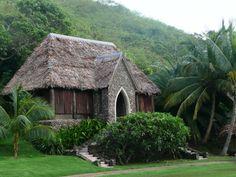 Chapel at Tokoriki Island Resort, Fiji