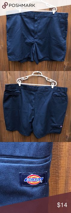 cd782a64cd196 Dickies Men s Work Shorts Navy Size 54 Dickies Men s Work Shorts Navy Size  54 Dickies Shorts Flat Front