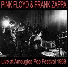 Pink Floyd with Frank Zappa. 1969 Amougies Pop Festival.