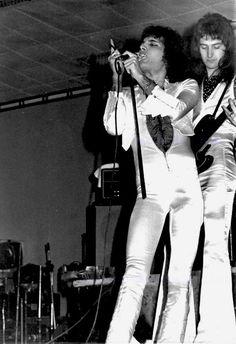 Queen ~ Freddie Mercury & John Deacon