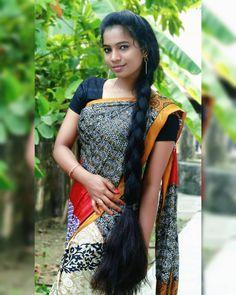Beautiful Girl Body, Beautiful Girl Indian, Beautiful Long Hair, Loose Hairstyles, Indian Hairstyles, Bride Hairstyles, Long Black Hair, Long Layered Hair, Cute Beauty