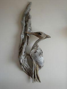 Love this driftwood art piece