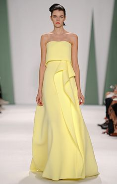 Gowns I'd love to see at the 2015 GG's - Antonia - Carolina Herrera