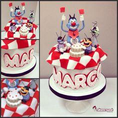 Oggy cake by Cakemesweet di Naike Lanza  Www.cakemesweet.com  Facebook.con/sweetcakemenay