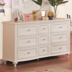 Chantilly Drawer Dresser by Holland House