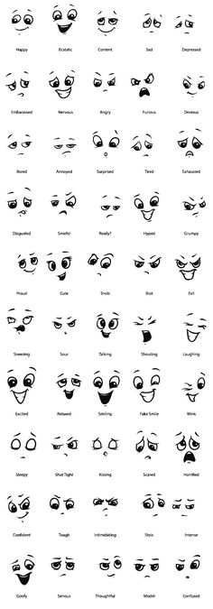 Amazing Learn To Draw Eyes Ideas. Astounding Learn To Draw Eyes Ideas. Emoji Drawings, Easy Doodles Drawings, Simple Doodles, Kawaii Drawings, Cute Drawings, Kawaii Doodles, Cute Doodles, Drawing Expressions, Drawing Faces