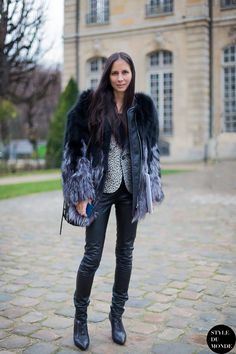 New post on http://www.styledumonde.com with Melanie Huynh #MelanieHuynh @melaniehuynh1 at #hautecouture #ss14 #parisfashionweek #pfw... #outfit #ootd #streetstyle streetstyle street style #streetfashion #streetchic #fashion #mode #style #Paris #weloveit #picoftheday  #bestoftheday #lookoftheday. Photo by #styledumonde