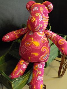 Paisley the Bear by RADBears on Etsy, $17.95