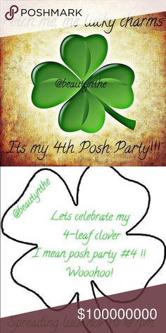 4th POSH PARTY Nov 16th @ 7pm !! Looking for host picks now 👀👀👀 keeping my peepers peeled 😍😍 I'll share the luck🍀🍀🍀🍀 Let's share the word till then 🌈🌈🌈 Posh Party Other