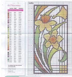 Art Nouveau Designs • 4/4 Doffodils