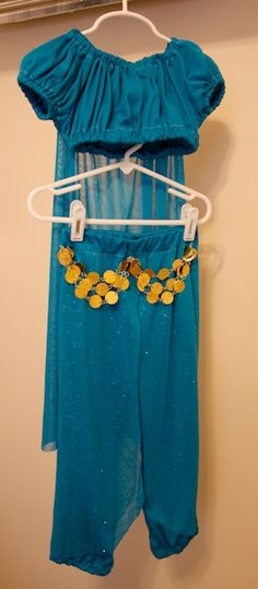 Princess Jasmine dress up DIY