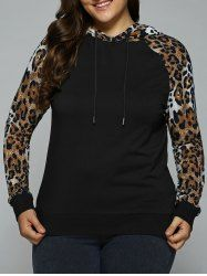 SHARE & Get it FREE | Plus Size Raglan Sleeve Cheetah Trim HoodieFor Fashion Lovers only:80,000+ Items • New Arrivals Daily • Affordable Casual to Chic for Every Occasion Join Sammydress: Get YOUR $50 NOW!