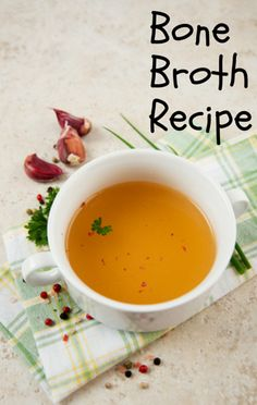 Dr Oz: Bone Broth Recipe + Natural Energy & Immunity Boost--9 pounds of bones actually costs just about $9 so if you use the bones twice, you're looking at just $0.50 a cup to make it at home. To save the bones, let them cool and store them in a bag in the freezer.