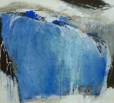 abstrakte Malerei Acryl-Mischtechnik auf Leinwand  1,00 m x 1,10 m