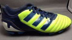Adidas Adipower Predator Soccer Cleats 5 Youth Football Shoes Lime Green