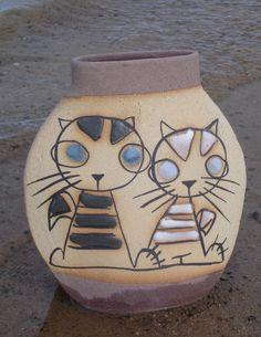 Jarrón cerámica AC