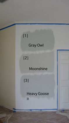 [CasaGiardino] ♛ Beautiful Gray Owl Benjamin Moore For Your Interior Paint Color Idea: Example My… Benjamin Moore Pashmina, Benjamin Moore Grey Owl, Benjamin Moore Paint, Benjamin Moore Moonshine, Collingwood Benjamin Moore, Gray Owl Paint, Beige Paint Colors, Paint Color Schemes, Taupe Paint