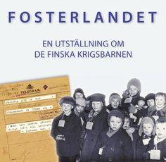 finska krigsbarnen | Fosterlandet - en utställning om de finska krigsbarnen Finland, Om, Barn, Baseball Cards, Sports, Hs Sports, Converted Barn, Sport, Barns