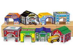 Lakeshore Community Garages - Set of 8 at Lakeshore Learning