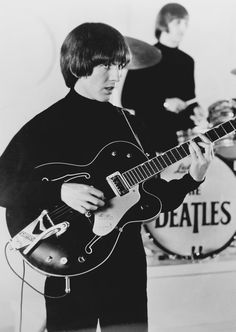 1965 - George Harrison & Ringo Starr in Help! film.