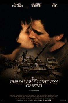 The Unbearable Lightness of Being (1988) movie #poster, #tshirt, #mousepad, #movieposters2