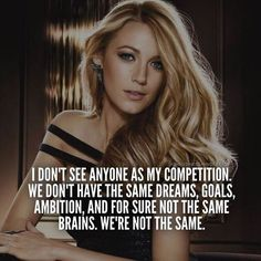 No veo a nadie como competencia