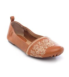 fadceb09f783 Love this Amber Boca Leather Ballet Flat by Latigo on