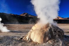 Chile's El Tatio Geysers by Ken Lee Visit Chile, Travel Magazines, Cool Landscapes, Adventure Awaits, Hot Springs, Travel Photos, Travel Inspiration, Travel Destinations, Around The Worlds
