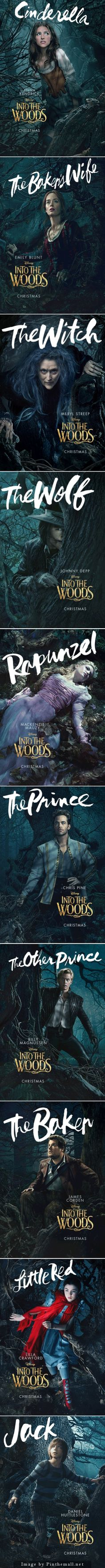 InTo The Woods Posters