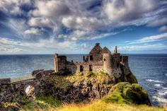Dunluce Castle is located in County Antrim, Northern Ireland. Photo: Mick Hunt / Getty Images UK