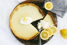 Lemon Dessert Recipes, Lemon Recipes, Tart Recipes, Delicious Desserts, Cooking Recipes, Oven Recipes, Meal Recipes, Sweet Pie, Sweet Tarts