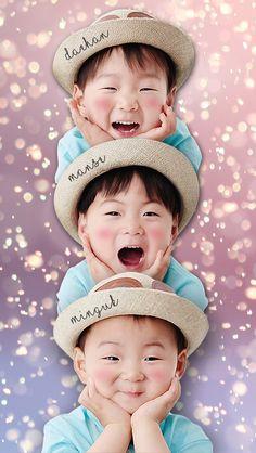 Superman Cast, Superman Kids, Superman Family, Cute Boys, Kids Boys, Cute Babies, Baby Kids, Triplet Babies, Song Daehan