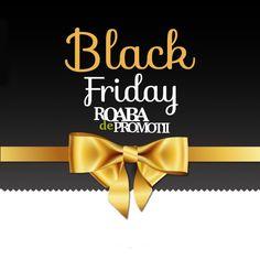 Black Friday se apropie la Roaba de promotii cu noi oferte. Intra si vezi care sunt magazinele participante si unde poti gasi cele mai bune promotii.   http://www.roabadepromotii.ro/Promotii-Black-Friday/