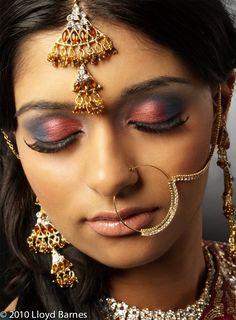 Indian bride by Lloyd Barnes
