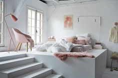 Brilliant Pastel Bedroom Design Idea
