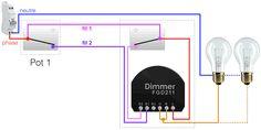 domotiser un circuit va-et-vient avec un micro-module ZWave FIBARO FGD211