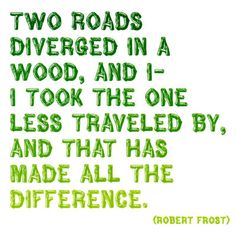 take the road less traveled - Google Search