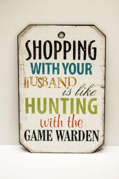 Husband Shopping