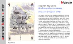 Stephen Jay Gould - Un dinosaurio en un pajar (1995)