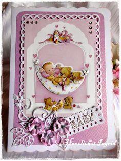 Meine kleine Bastelwelt: Babykarten