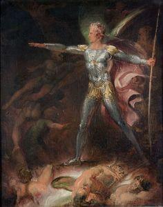 Thomas Stothard (Great Britain, 1755–1834), Satan Summoning His Legions, c. 1790. Oil on canvas. Mortimer C. Leventritt Fund, 1972.148.
