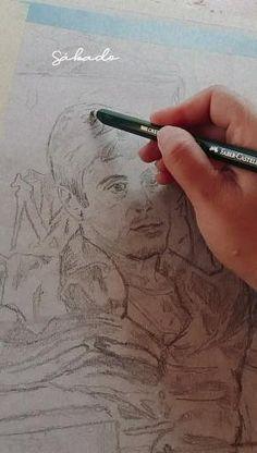 Pencil techniques for portraits