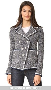 New Veronica Beard Carroll Portrait Neckline Jacket online. Enjoy the absolute best in L'AGENCE Clothing from top store. Sku xsjr46968dznw42076