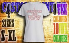 Womens I survived the hunger games vinyl press by customprintuk get yours now!