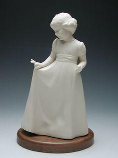 Little Lady- Porcelain Moments  #Florence Hansen  #LDS #Daughter #Dress