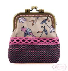 Mini Monedero Little Birds / Litte purse / Monedero mariposa por PikiyinaFieltro, €12.00