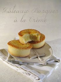 Basques Cake with Cream Filling (Gâteaux Basques à la Crème). French Desserts, No Bake Desserts, Delicious Desserts, Dessert Recipes, Yummy Food, Mini Cakes, Cupcake Cakes, French Pastries, Let Them Eat Cake